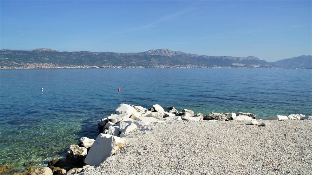 Strand in 120 m Entfernung vom Haus