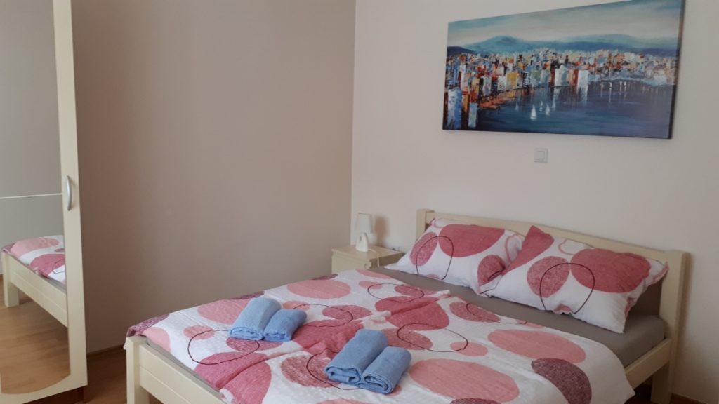 Apartment Kastela Schlafzimmer