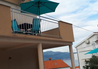 Apartment Trogir Balkon