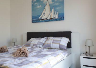 Apartment Trogir Schlafzimmer