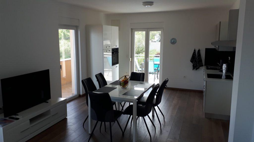 Apartment Trogir Essbereich