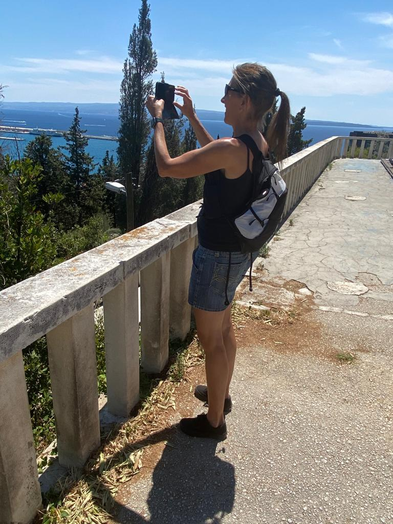 Bianca, unser Gast in Trogir