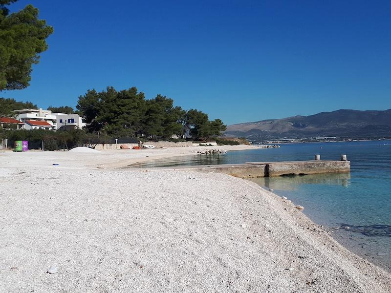 Bewirtschafteter Strand